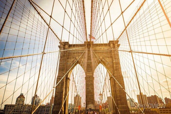 Posters Brooklyn, pont, Manhattan, Horizon