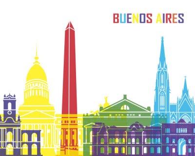Posters Buenos Aires horizon pop