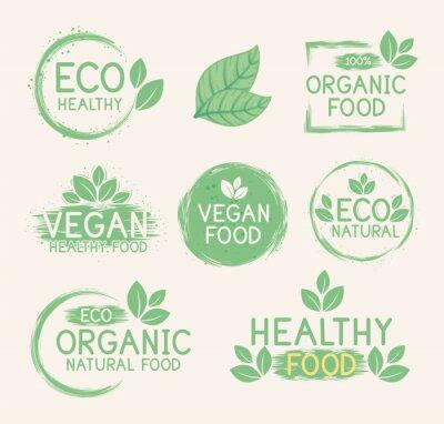 Posters bundle green labels