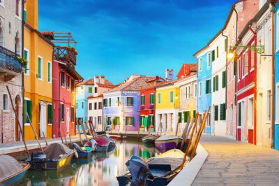 Posters Burano Venice Italy
