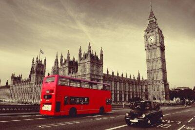 Posters Bus à Londres