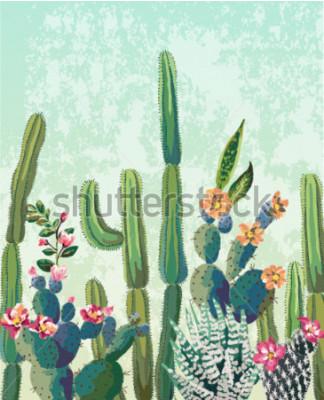 Posters Cactus succulent mignon