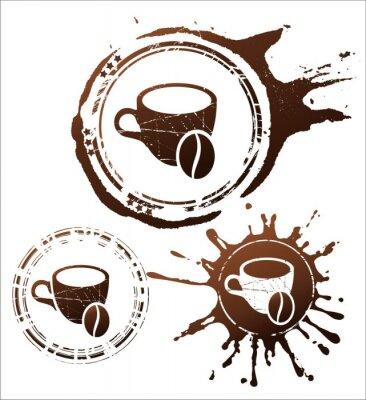 Posters Café éléments de conception. Illustration vectorielle