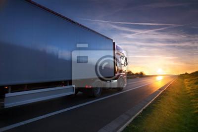 Posters Camion sur la route