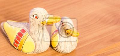 canards de bois