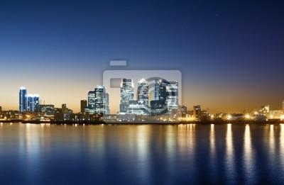 Canary Wharf, à Londres.