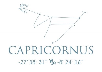 Posters Capricorne