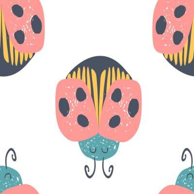 Posters Carte vectorielle de fée dessinée à la main
