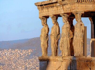 Posters Caryatides, l'Acropole d'Athènes