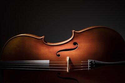 Posters Cello silhouette