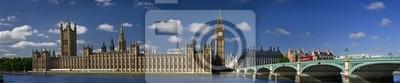 Chambres du Parlement, Londres.
