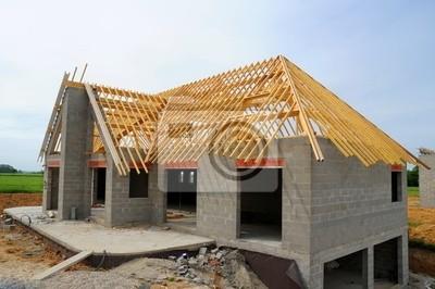 chantier de la construction d'une Maison
