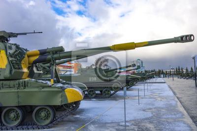 chars russes prêts à l'action