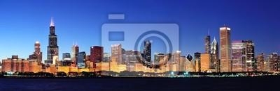 Chicago panorama de nuit