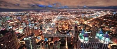 Chicago skyline panorama urbain