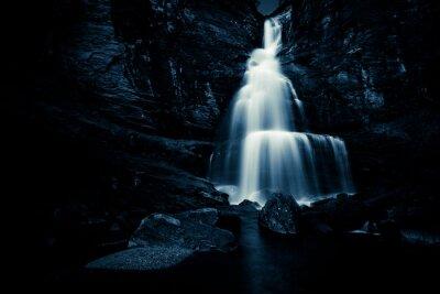 Posters Chute d'eau dans la nuit