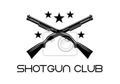 Posters Club de fusil de chasse
