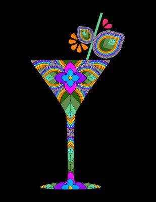 Posters Cocktail créatif
