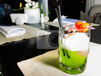 cocktail de melon vert
