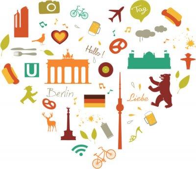 Posters coeur berlin