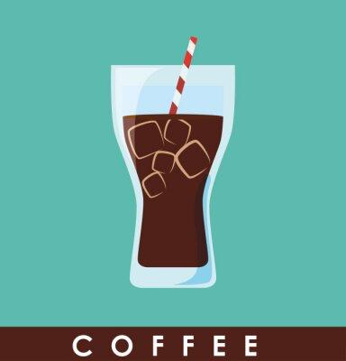 Posters Coffe icône de conception