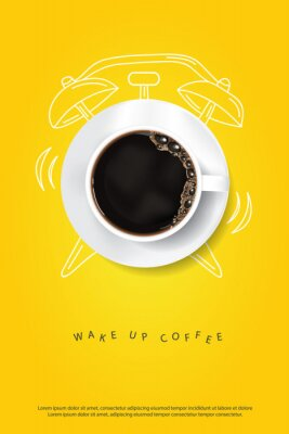 Posters Coffee Poster Advertisement Flayers Vector Illustration
