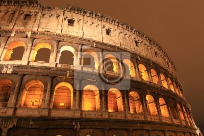 Colisée de nuit, Rome, Italie