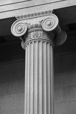 Posters colonne détail architectural et symbolique
