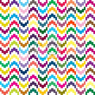 Coloré seamless dans des formes géométriques