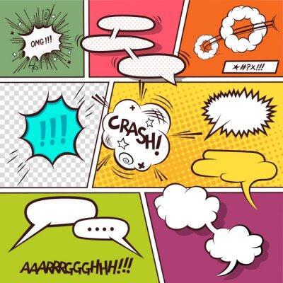 Posters Comic Speech Bubbles
