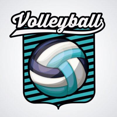 Posters Conception de ligue de volleyball