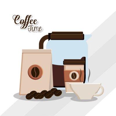 Posters Conception du temps café