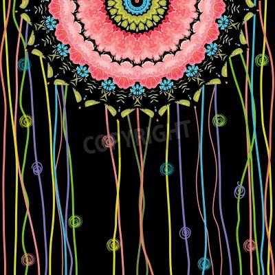 Posters conception texture mandala