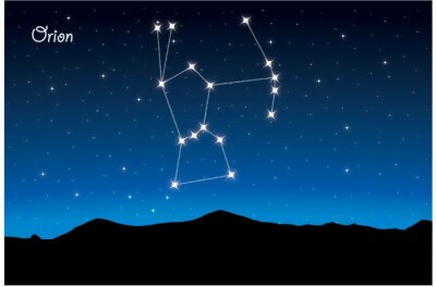 Posters Constellation d'Orion