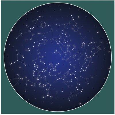 Posters Constellations de l'hémisphère Nord