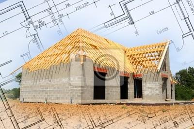 construction d'une Maison + plans