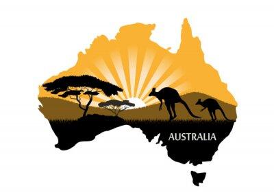 Posters Continent australien