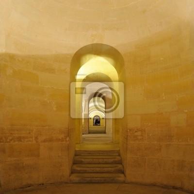 couloir de la crypte vous Panthéon - Paris