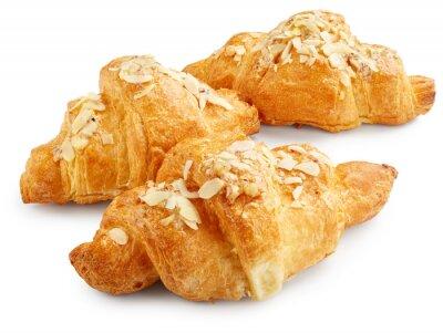 Posters Croissants sucrés frais
