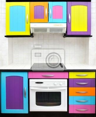 cuisine conception colorée
