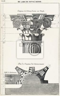 Posters De l'arc de Titus, à Rome