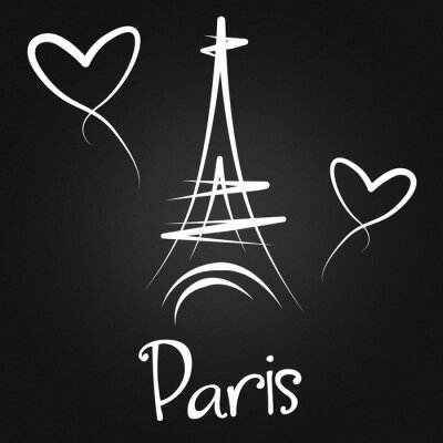Posters De Paris avec amour