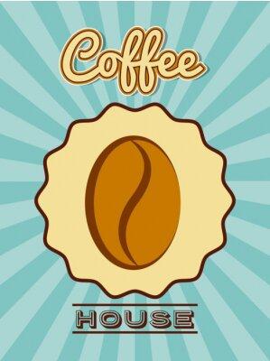 Posters Délicieux café design