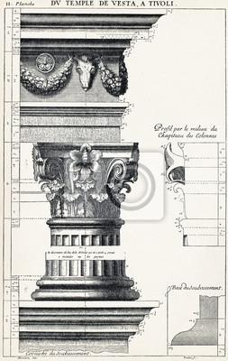 Posters Depuis le temple de Vesta, à Tivoli