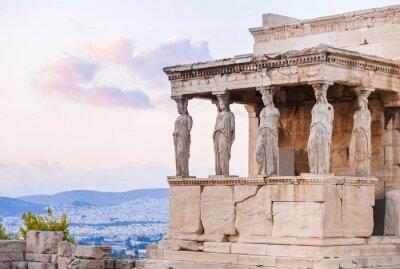 Posters Détail, Erechtheion, Acropole, Athènes, Grèce