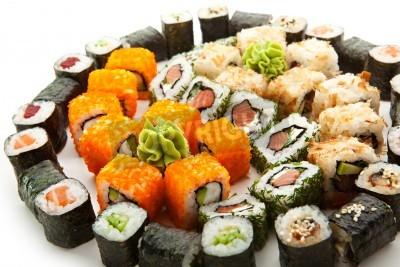 Posters Différents types de Maki Sushi