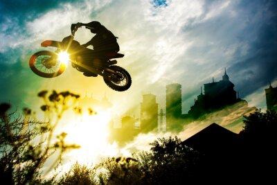Posters Dirt Bike Urban Jump