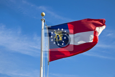 Posters drapeau de la Géorgie