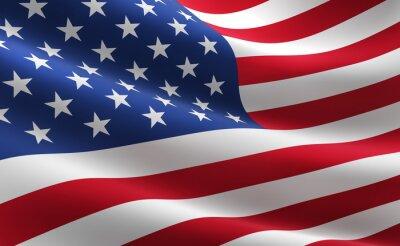 Posters Drapeau des États-Unis d'Amérique