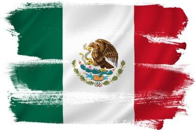 Posters Drapeau du Mexique